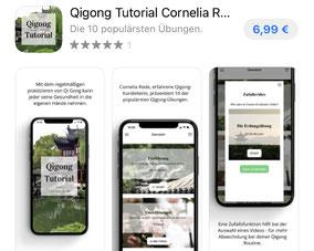 Qigong Tutorial App von Cornelia Rode