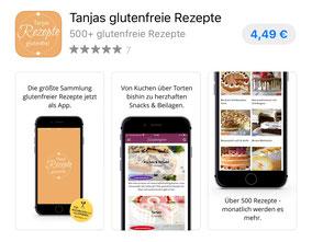 Tanjas glutenfreie Rezepte App