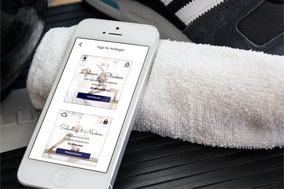Deine eigene Fitness-App von eat app live App-Verlag