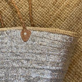 Bunte Korbtaschen im Ethno-Style aus Marokko