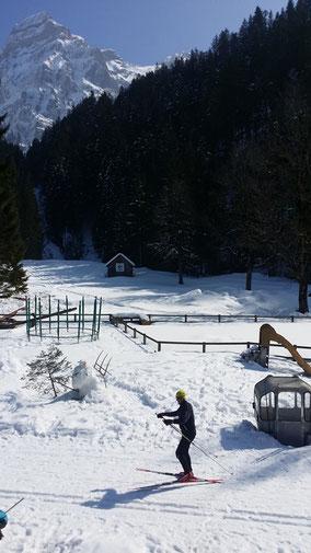 gesunde Skiferien, Langlaufurlaub ohne funkstrahlung, in gesunder Luft