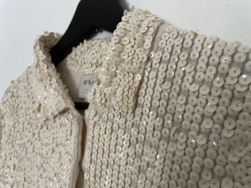 OSCAR DE LA RENTA Wool Shirt, Size S, CHF 190