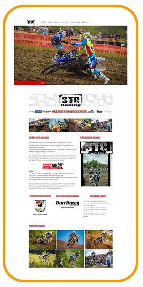 Projekt - STC Racing- Startseite