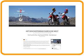 Projekt Reise Homepage