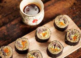Soba sushi (sushi de fideos)