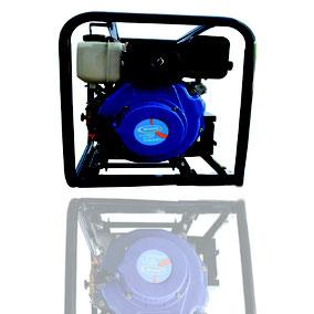 Bomba Agua 3x3 Diesel, marcha eléctrica y batería