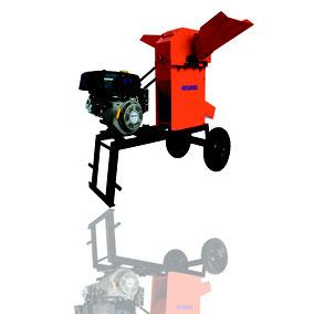 Picadora 3000 motor gasolina 13 HP chasis lineal