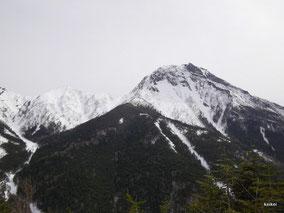 八ヶ岳 赤岳 阿弥陀岳