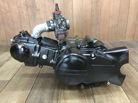 カブ モンキー横型エンジンチューニング