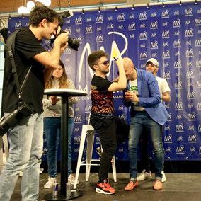 Matt & Bise firma pelata Andrea Prada you tube youtuber