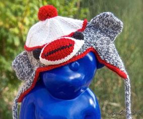 Item 0155: Cheeky Monkey Ushanka 100% acrylic 30€