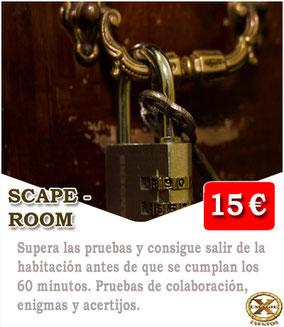 jugar al escape room en Cádiz