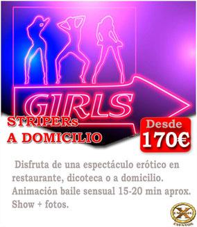 contratar un stripper en San Fernando