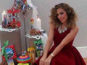 Gisela, juguetes, El Laberinto decoración