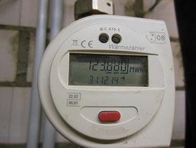 Ablesung von Wärmemengen Zählern direkt durch die Hausverwaltung