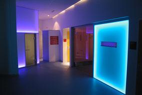 RGB LED Wandbeleuchtung