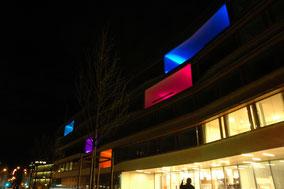RGB LED Strahler, Wandbeleuchtung