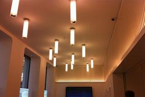 Lichtrohre, Indirekte LED Konturbeleuchtung