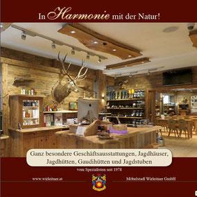 Spezialkatalog mit Schwerpunkt Geschäftsausstattungen und Jagdstuben - 72 Seiten im Format 30x30 cm für Sie!