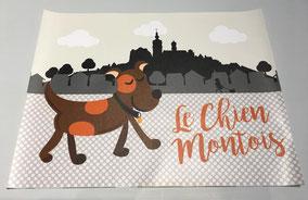 Set pour chien montois 45 x 35 cm - 12€