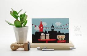 cartes postales Mons Beffroi Hotel de ville