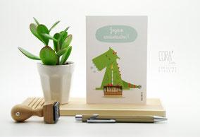 Carte postale Dragon Anniversaire