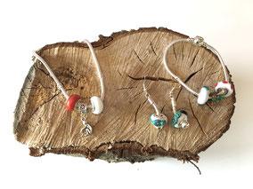 Bracelets & Boucles d'oreilles en perles de verre