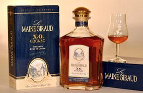 cognac et son coffret