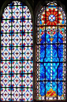 restauration des vitraux du chœur
