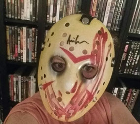 Bam Box January Jason Voorhees Ari Lehman Autograph Mask Friday the 13th