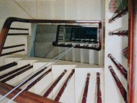 【ホーチミン】ホテルのドミ4人部屋3ドル(360円)。8階エレベーターなし。