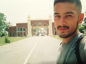 パキスタン入国