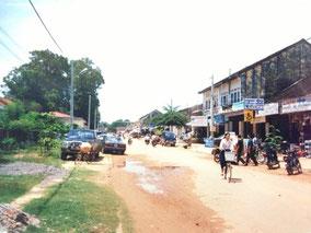 シェムリのメインストリート