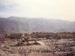 地元の遺跡 タシュクルガン
