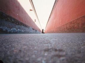 【北京】紫禁城で迷子。真ん中オレ。