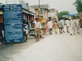 インド×ネパール国境(インド側)