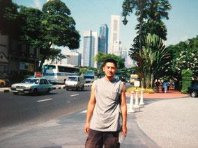 シンガポールの街並み 天気がいい