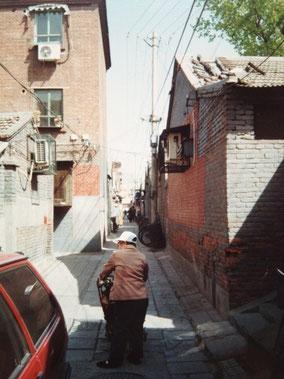 【北京】路地裏のおばちゃん
