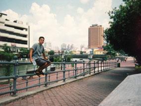 休憩 シンガポールの街並み