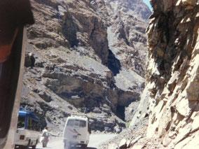 中国国境へ パキスタン国境を越えた後