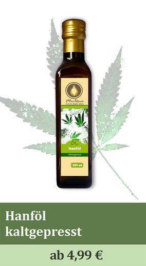 Hanföl, Öle aus der Region, Hanfsamen, Cannabisöl, Naturmühle, Ölmühle, kaltgepresste Öle