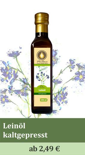 Leinöl, kaltgepresste Öle, Naturmühle, Ölmühle, Regional, Kräuterölmühle, Speiseöl, beste Qualität, Qualitätsöle