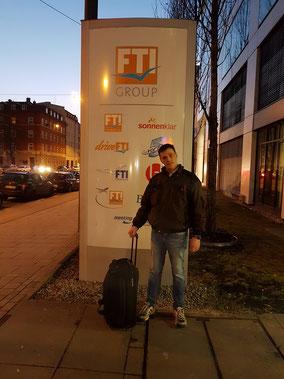 Ankunft am 18.02.2017 in München