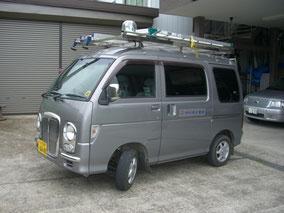 軽内線作業車