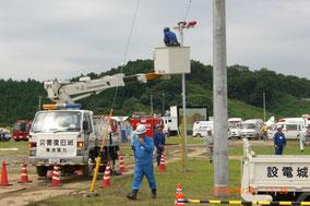 茨城県総合防災訓練参加時