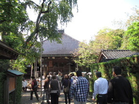 初めて訪れる方が多かった忍者寺の拝観