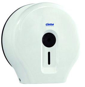 Toilettenpapierspender, Großrolle, weiß