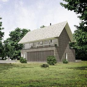 Vivienda, Cabaña, Arquitectura