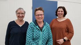 vlnr: Mieke Jetten, Brenda van Veenen, Marion Beltman, Ada Vedder, Mirjam den Hertog en Maaike Geertzen.