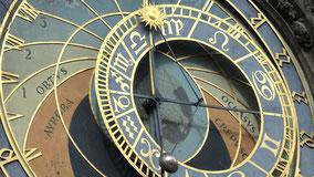 Termine auf der astrologischen Uhr